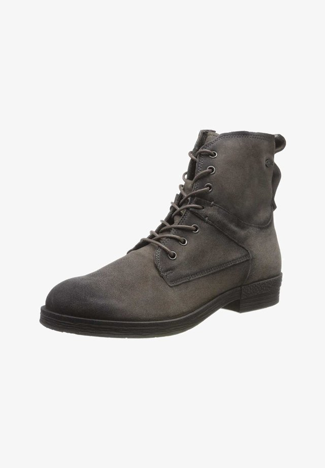 Lace-up ankle boots - moon