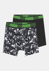Puma - BOYS LOGO 2 PACK - Pants - green - 0