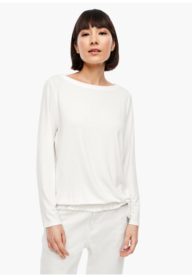 s.Oliver - Long sleeved top - cream