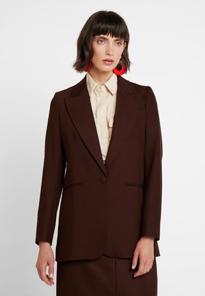 Blazer - dark chocolate
