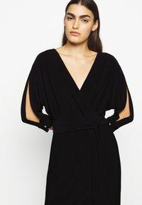 Lauren Ralph Lauren - CLASSIC LONG GOWN WITH TRIM - Robe de cocktail - black - 3