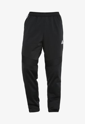 TIRO - Tracksuit bottoms - black/white