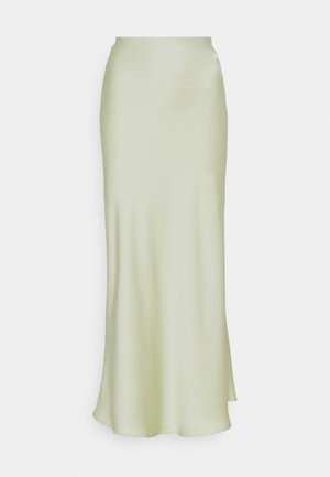 SKIRT - Maxi skirt - pistachio