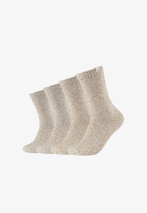 Socks - offwhite mouline