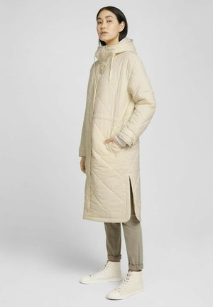QUILTED COAT - Winterjas - smooth light sand
