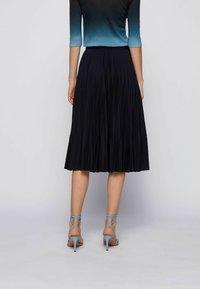 BOSS - A-line skirt - open blue - 2