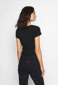 Even&Odd - Camiseta estampada - black - 2