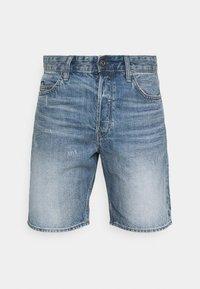 TRIPLE - Denim shorts - sun faded ice fog