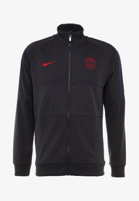 Nike Performance - PARIS ST GERMAIN - Klubbkläder - oil grey/obsidian/university red - 4