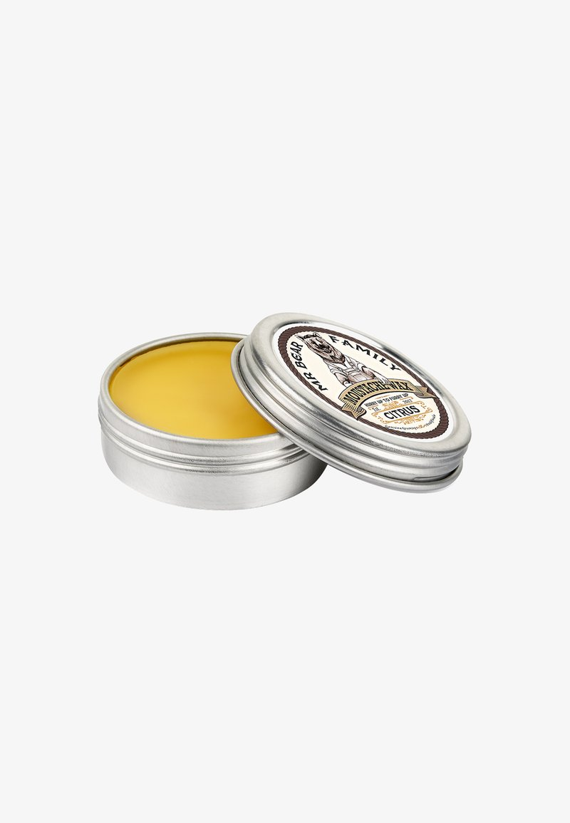 Mr Bear Family - MOUSTACHE WAX - Bartpflege - citrus