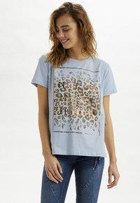 Cream - CRYARNA - T-shirt imprimé - cashmere blue - 0