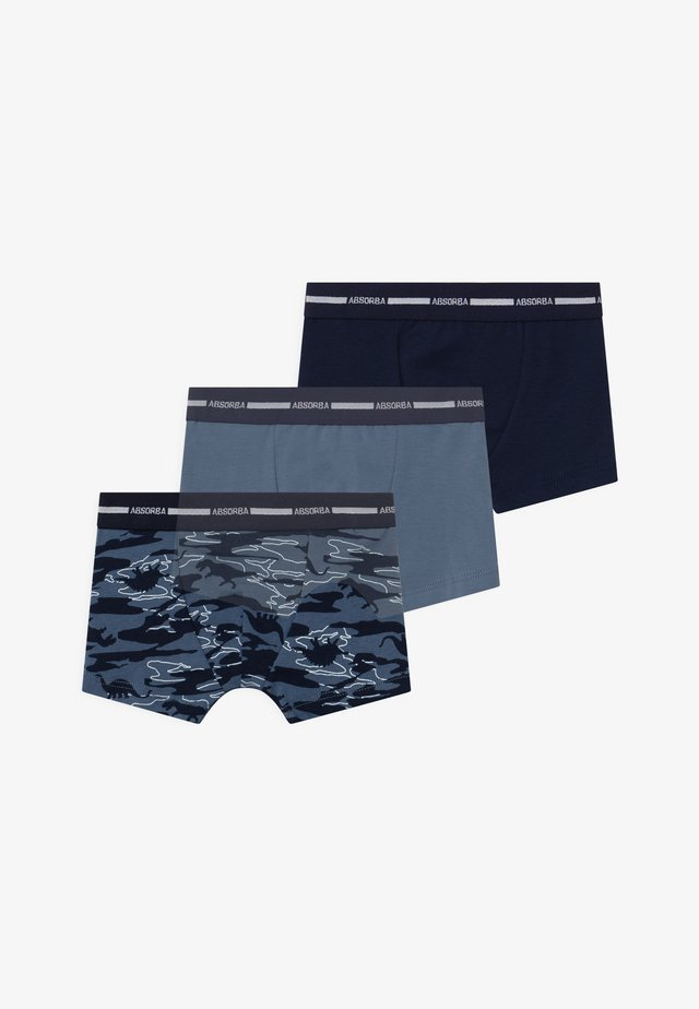 3 PACK - Onderbroeken - dark blue