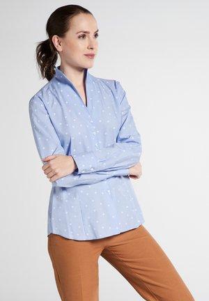 MODERN - Button-down blouse - blue