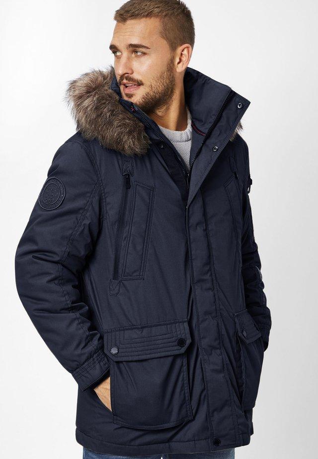 EDDY - Winter coat - navy