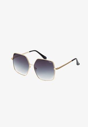 BACKSTAGE - Sunglasses - gold-coloured/smoke