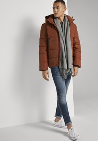 TOM TAILOR DENIM - Winter jacket - goji orange - 2