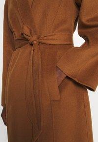 Trussardi - COAT PANNO APRIBILE - Classic coat - thrush - 3
