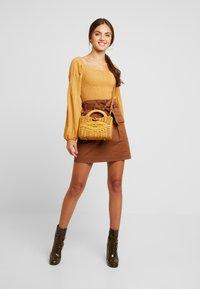 Glamorous - Blus - mustard - 1