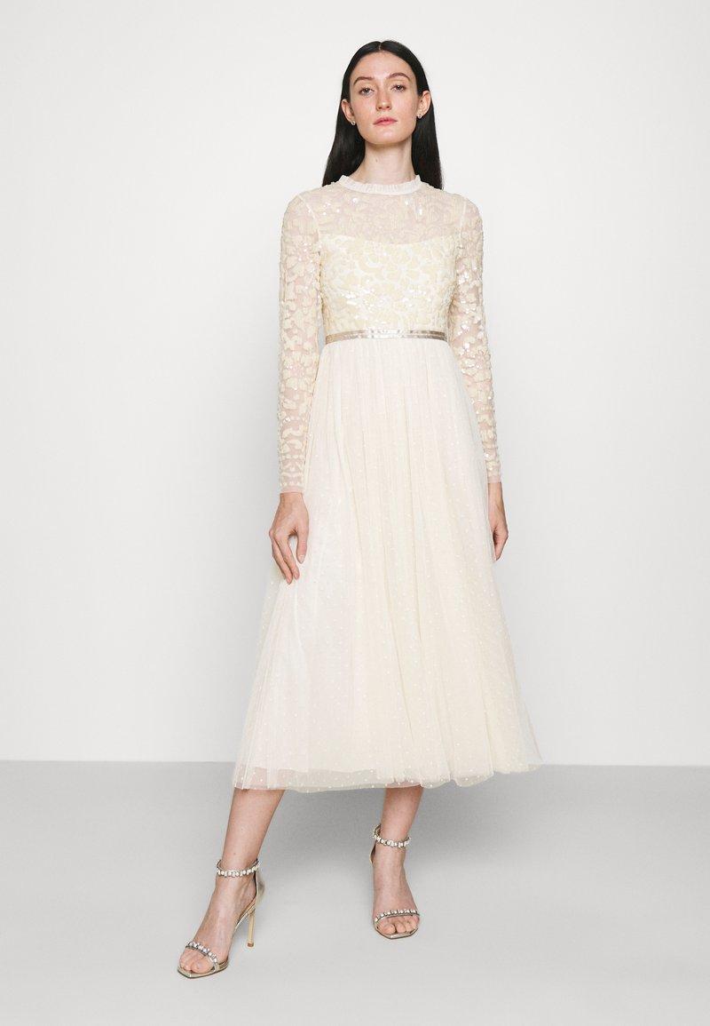 Needle & Thread - TEMPEST BODICE BALLERINA DRESS - Koktejlové šaty/ šaty na párty - champagne