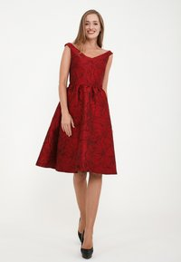 Madam-T - DANAY - Cocktail dress / Party dress - schwarz, rot - 5