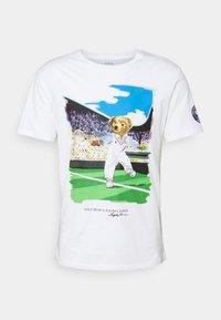 Polo Ralph Lauren - T-shirt imprimé - pure white - 5