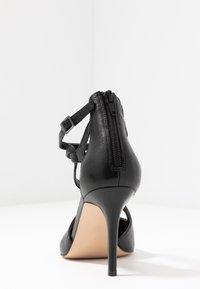 Anna Field - LEATHER HIGH HEELS - Zapatos altos - black - 5