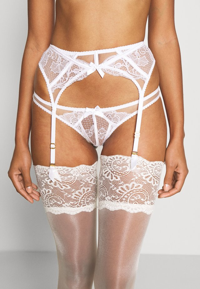 ROZLYN SUSPENDER - Suspenders - white