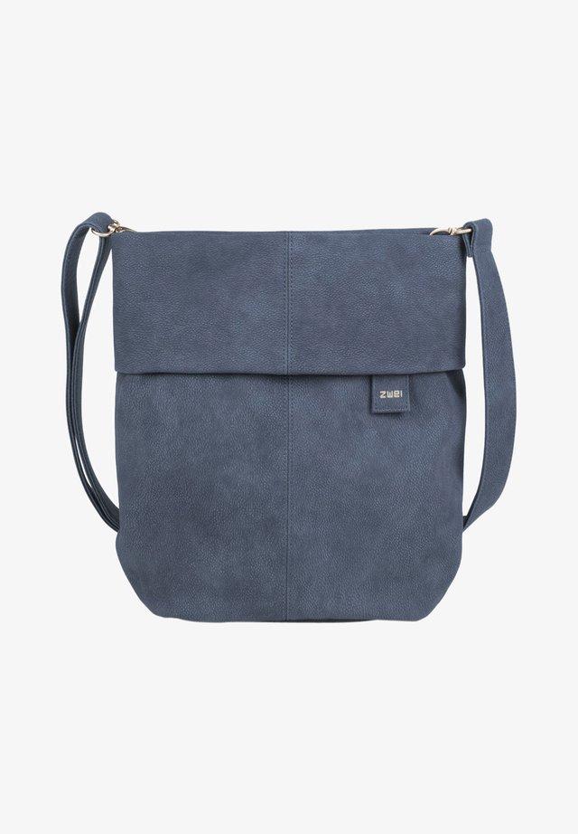 MADEMOISELLE M12 - Across body bag - nubuk-blue