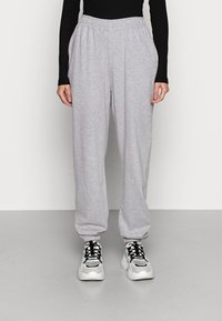 Missguided - BASIC - Tracksuit bottoms - grey - 0
