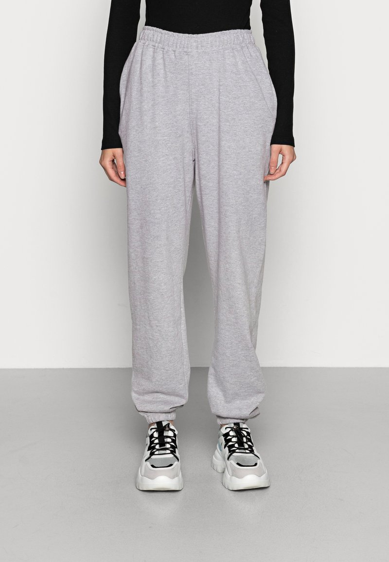 Missguided - BASIC - Tracksuit bottoms - grey