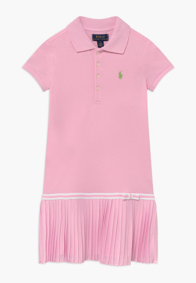 POLO DRESS - Day dress - carmel pink