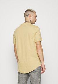 YOURTURN - UNISEX - T-shirt - bas - tan - 2