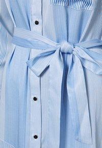 Mos Mosh - RORY ISLAND DRESS - Robe chemise - bel air blue - 2