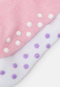 Nike Sportswear - POP COLOR GRIPPER INFANT TODDLER ANKLE 6 PACK - Ponožky - pink - 2