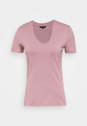 Basic T-shirt - summer mauve