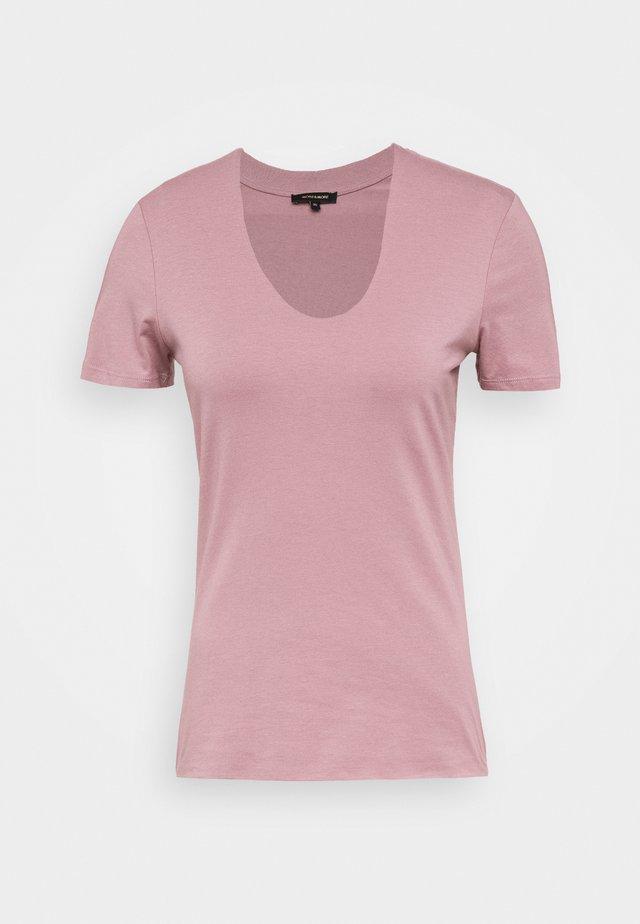 T-shirt basic - summer mauve