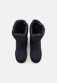 CMP - KIDS RAE WP UNISEX - Winter boots - black blue - 3