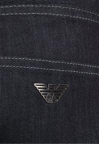 Emporio Armani - POCKETS PANT - Džíny Straight Fit - blue navy - 6