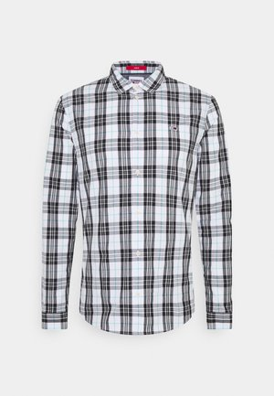 SEASONAL CHECK SHIRT - Chemise - white