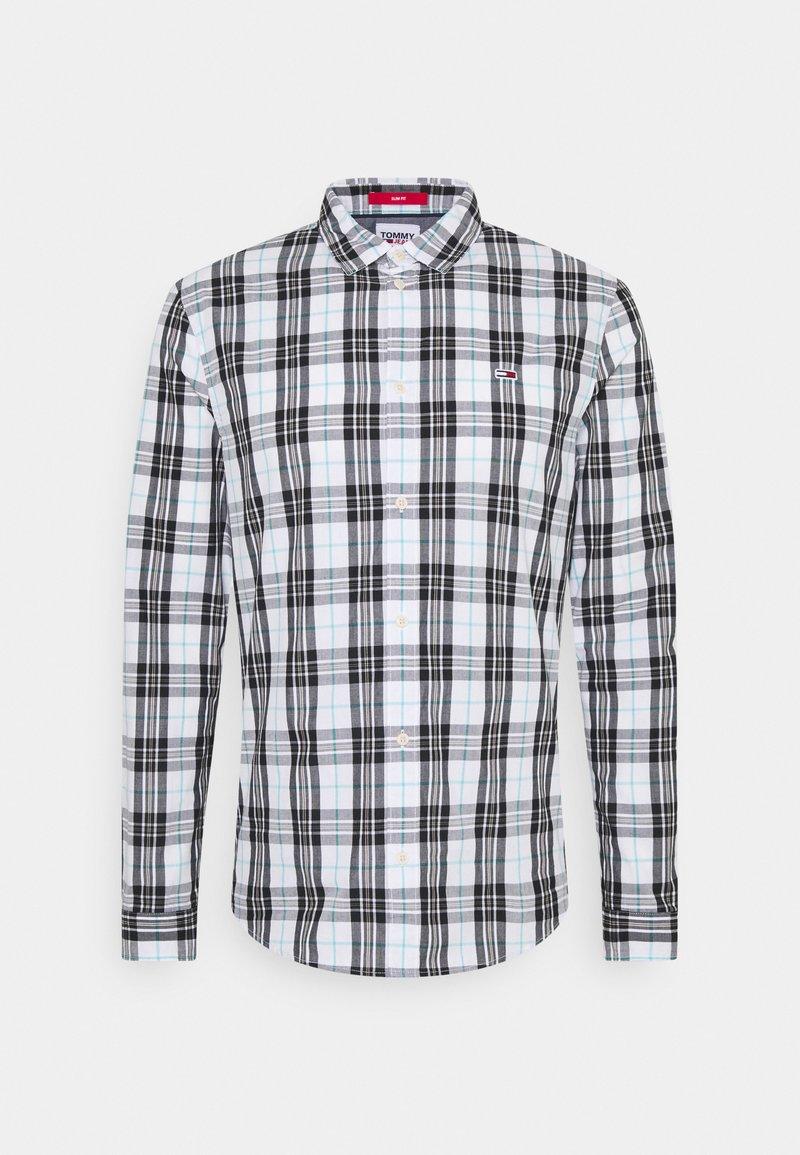 Tommy Jeans - SEASONAL CHECK SHIRT - Skjorta - white