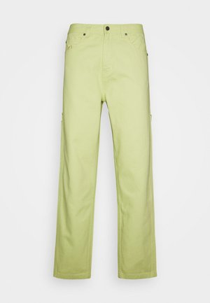PANTS  - Džíny Relaxed Fit - yellow