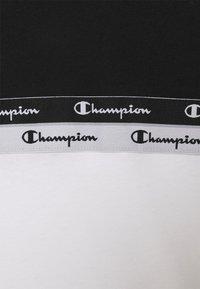 Champion - CREWNECK - Triko spotiskem - white/black - 2