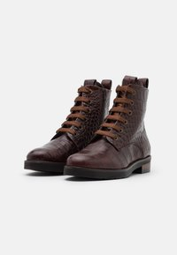 Maripé - Lace-up ankle boots - hot coffee - 2