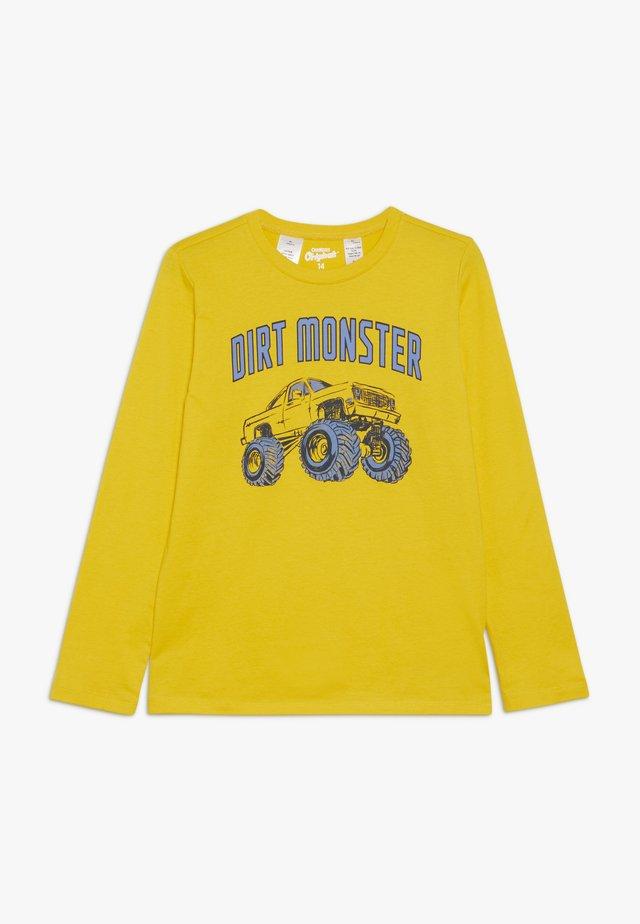 KIDS TEE - Maglietta a manica lunga - yellow