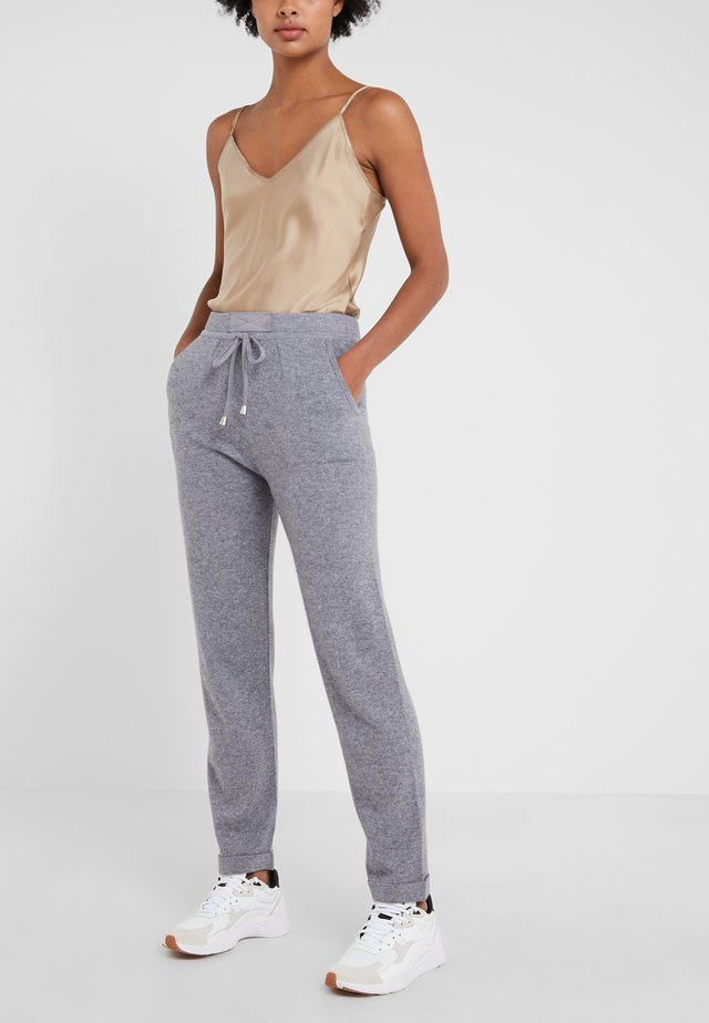 TROUSERS - Trainingsbroek - blue-grey