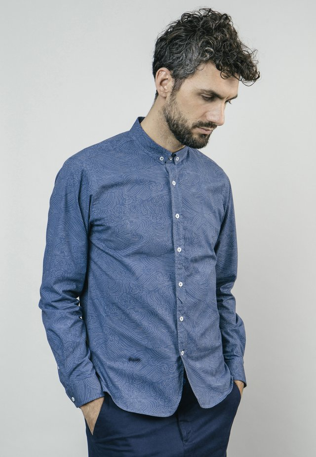 WINDY NIGHT - Camicia - blue