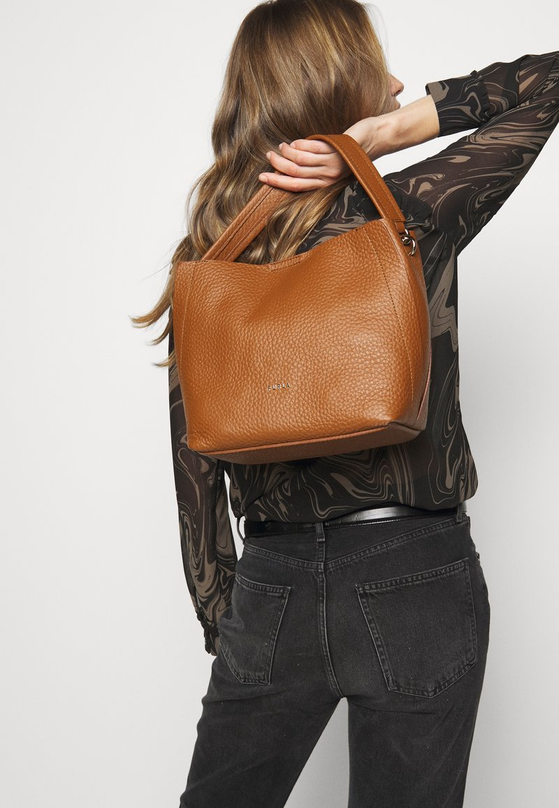 Furla - GRACE  - Handbag - cognac