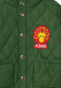 Mini Rodini - DIAMOND QUILTED  - Winter jacket - dark green - 3