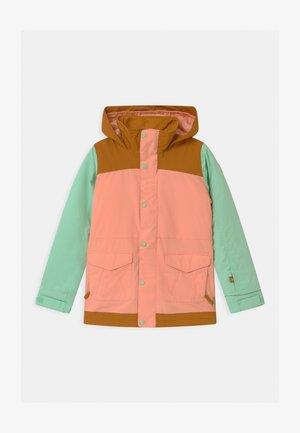 ELSTAR UNISEX - Snowboard jacket - dahlia/jade