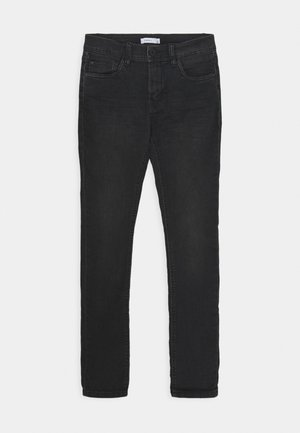 NKMSILAS DNMCART PANT - Džíny Slim Fit - black denim